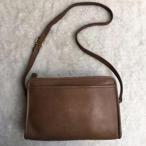 Vintage Coach Legacy Brown Crossbody Bag NYC